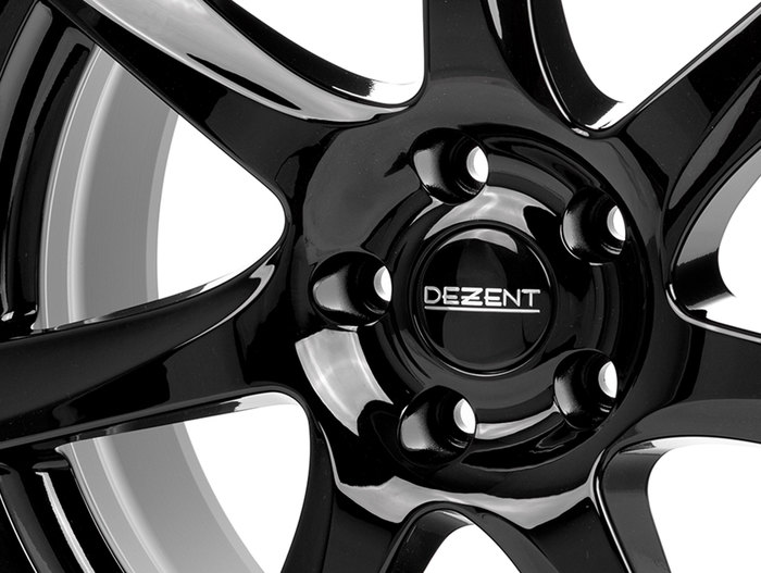 Dezent TW Black/polished lip